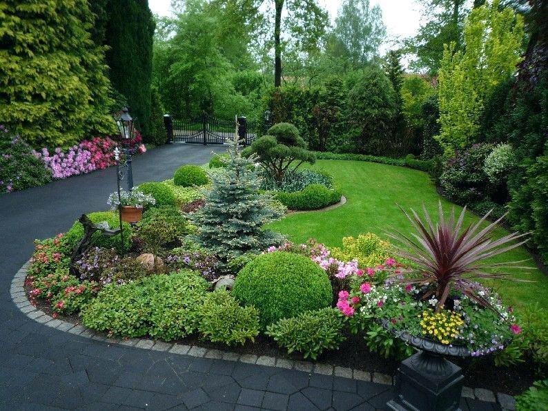 Ландшафтный дизайн, парк в саду
