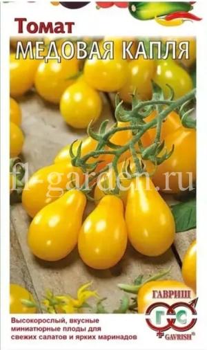 Сорт томата Медовая капля - полное описание, фото